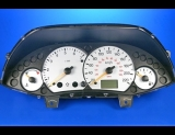 2000-2004 Ford Focus Tach METRIC KPH KMH White Face Gauges