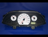 2006-2007 Ford Focus METRIC KMH KPH White Face Gauges