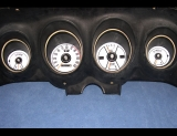 1969-1970 Ford Mustang White Face Gauges