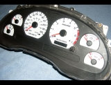1999-2004 Ford Mustang White Face Gauges