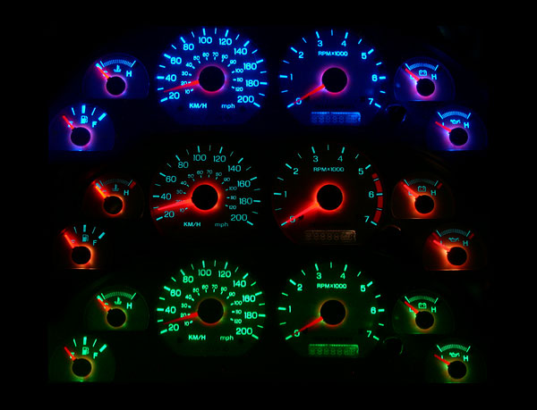 Lights For 1999 Ford Mustang