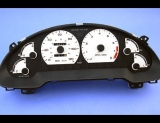 1993-1997 Ford Probe 4 cylinder White Face Gauges 93-97
