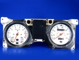 1983-1988 Ford Ranger METRIC KPH KMH White Face Gauges