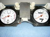 1983-1988 Ford Ranger Bronco II White Face Gauges