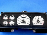 1989-1992 Ford Ranger Explorer Bronco II White Face Gauges