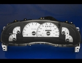1998-2003 Ford Explorer METRIC KPH White Face Gauges