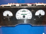 1990-1991 Ford Taurus Sable White Face Gauges 90-91