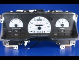 1993-1995 Ford Taurus Sable White Face Gauges