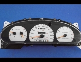 1996-1998 Ford Taurus White Face Gauges