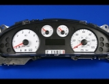2005-2007 Ford Taurus Sable White Face Gauges