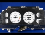 1987-1988 Ford Thunderbird 140 Mph Turbo Coupe White Face Gauges