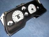 1989-1996 Ford Thunderbird METRIC KPH KMH White Face Gauges