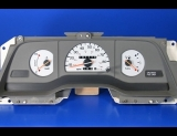 1989-1993 Ford Thunderbird Non Tach White Face Gauges