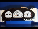 1997 Ford Thunderbird Mercury Cougar White Face Gauges