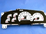 1999-2001 Ford Truck DIESEL White Face Gauges
