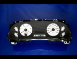 2005-2007 Ford Truck Diesel Powerstroke White Face Gauges