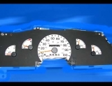 1997-1998 Ford Van White Face Gauges