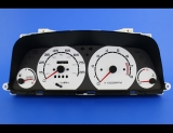 1989-1991 Geo Metro Tach White Face Gauges