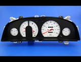 1991-1992 Geo Prizm Non-Tach White Face Gauges