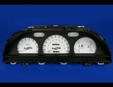 1990-1991 Geo Storm Tach White Face Gauges