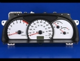 1999-2004 Chevrolet Tracker 110 Mph White Face Gauges