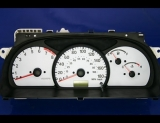 1999-2004 Chevrolet Tracker METRIC KPH KMH White Face Gauges