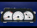 1999-2004 Chevrolet Tracker White Face Gauges