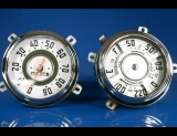 1947-1953 GMC Pickup Truck White Face Gauges