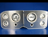 1955-1959 GMC Pickup Truck White Face Gauges
