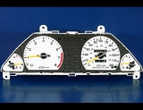 1985-1987 Honda Civic CRX Si White Face Gauges