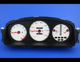 1992-1995 Honda Civic Tach White Face Gauges