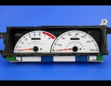 1992-1996 Honda Prelude Manual White Face Gauges