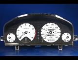 1994-1997 Honda Accord White Face Gauges
