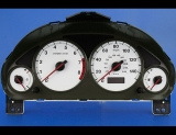 2001-2002 Honda Civic EX Manual White Face Gauges
