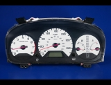 1998-2002 Honda Accord Sedan White Face Gauges
