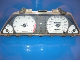 1985-1987 Honda Civic CRX White Face Gauges 85-87
