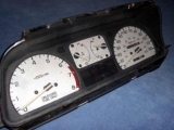 1988-1989 Honda CRX White Face Gauges