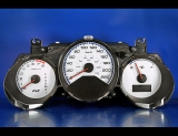 2007-2008 Honda Fit METRIC KPH KMH White Face Gauges