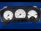 1988-1989 Honda Prelude White Face Gauges