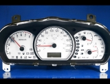 2007-2010 Hyundai Elantra Kmh Kph Metric White Face Gauges