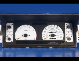1995-1997 Isuzu Trooper White Face Gauges