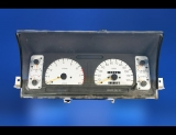 1992-1994 Isuzu Trooper DOHC White Face Gauges