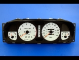 1998-1999 Isuzu Rodeo Amigo White Face Gauges