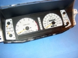1994-1997 Isuzu Rodeo SOHC White Face Gauges