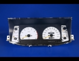1994-1997 Isuzu Rodeo Passport No Airbag White Face Gauges