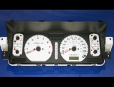 1998-2002 Isuzu Trooper White Face Gauges