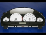 2003-2004 Jaguar S Type MPH White Face Gauges
