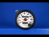 1987-1991 Jeep Wrangler METRIC KPH KMH White Face Gauges