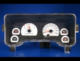 1997-2001 Jeep Cherokee Non-Tach White Face Gauges