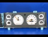 1987-1990 Jeep Cherokee Non Tach White Face Gauges